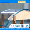 3-19mm radius more than 750mm curved tempered glass