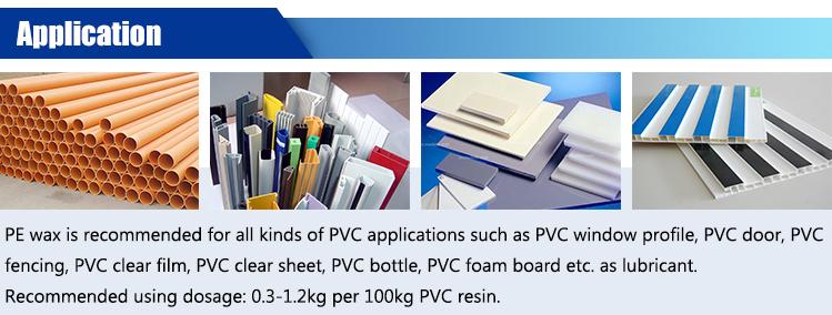 yüksek performanslı yüksek erime noktası pvc sabitleyici pe balmumu