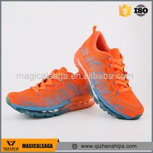 Moda transpirable oem zapatos deportivos de marca baratas