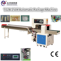 Down Paper Type Pillow Bag Horizontal Form Fill Seal Packaging Machine With CE Appproved
