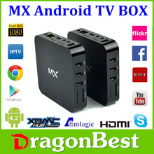 Amlogic 8726 Smart Google Android 4.22 Jailbreak Dual Core Mx Full HD 1080p Porn Video Android TV BOX 4.2.2