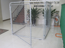 High Quality Power Coated Large Dog Kennel/Dog Wire Kennel