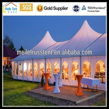 large clear roof party tent marquee wedding tent theme event tent with curtain for decoration for sale