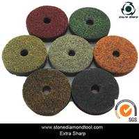 4 Inch Marble Diamond Wet Polishing Pads Buffing for Stone