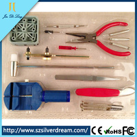 China supplier shenzhen wholesale 16 piece one set watch tool kit
