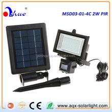 2W Motion Sensor Solar Lighting System,solar security light