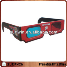 2014 Promotional cheap paper 3d glasses