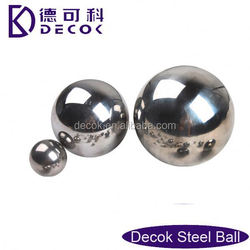 Hi quality 1/2 inch mm chrome and carbon steel ball for bearing made in china manufacturer