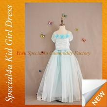 CR-003 2015 fashion kids wear new design cinderella flower girl dresses
