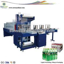 Hot Melt Glue Shrink Film Packing Machine For Juice Bottles