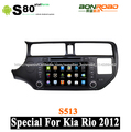 pantalla táctil del coche de audio/dvd del coche/coche vedio/accesorios del coche para kai rio 2012 con navegación gps bluetooth