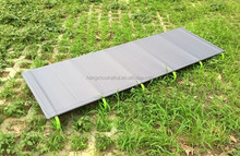 in 2015 new style portable aluminium folding camping bed only 1.3kgs lighest weight camping bed