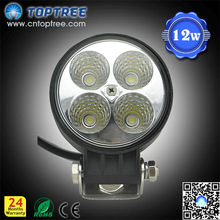 12w car offroad led headlight driving work light,auto accessories led car roof light