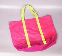 High quality standard size recyclable polyester shopping cart bag
