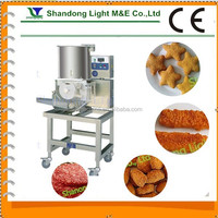 Automatic Fish Pork Beef Shrimp Chicken Meat Pie Forming Machine