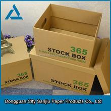 A4 size T-shirt light corrugated paper box shipping box