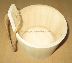 Small Wooden Gift Buckets for Sale!