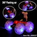 4 kênh dacing ánh sáng màu xanh nhựa rc đóng thế đồ chơi xe 360 độ