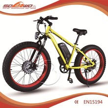 Barato fat tire li ion battery electric dirt bike