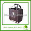 Wholesale stable nonwoven fabric recycling wine bottle bag bulk