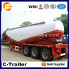 China widely used good price cement bulk trailer with 3 axle