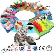 [Grace Pet] Hot Sale Pet Product Cat Stuffed Soft Toy Balls