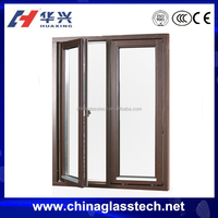 Made In China Standard Size Double Panels Casement Sash Window