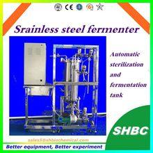 Automatic sterilization and fermentation Stainless steel fermenter,fermentaer tank price bioreactor lab fermentor bacteria