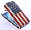 [Wholesale]Flip cover leather Phone case for Samsung GALAXY S4 I9500