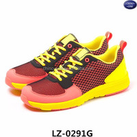 Hot sale ladies trainers runing sport shoes sneaker colorful light footwear zapatos deportivos running