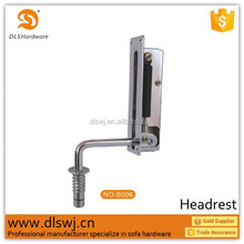 B002 DLS 2015 new china accessories sofa bed hinge, furniture hardware supplier and Iron sofa Headrest hinge