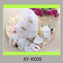 Jetables non tissés viscose ou de coton ou fiber beauté masque revêtement