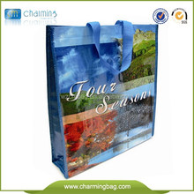 China wholesale used pp woven shopping bag/shopping tote bag