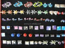 2015 new design low price company logo cufflinks for souvenir