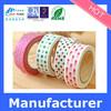 Professional Factory Sale!! Bopp custom washi tape