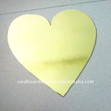 Heart shaped cake boards