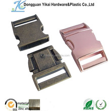Yikai zinc alloy buckle metal slide buckle for bag / backpack / luggage accessories