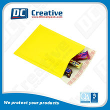 Customzied Printed Kraft Yellow Color Bubble Envelope