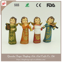 Small Angels And Fairy Figures, Resin Figurine Christmas Angel Decorations