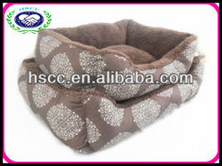 Cosey plush dog /cat pet beds supplier