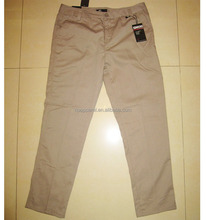 Clearance stock lots branded skinny pants for men
