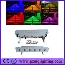 DMX 512 control led stage lighting equipment wash /party wash light 6pcs bar light