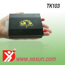 HOT model XEXUN TK103-2 Dual Sim card and SD card gps tracker app