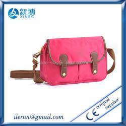 polyester waterproof leisure travelling sling bag