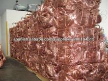 ISO aprobó la chatarra de alambre de cobre