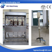 CE Semi automatic four heads beer bottle filler