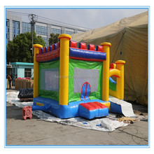 PVC 5*5*3m giant and interesting wet/dry inflatable slide,inflatable bouncer water slide pool