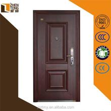 Steel frame vented steel door,exterior fancy steel door,security steel door