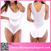 Hot Sale White Summer Loving Neoprene Swimsuit