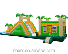 Commercial inflatable dry slide Cheap Halloween Beautiful 18ft inflatable slide